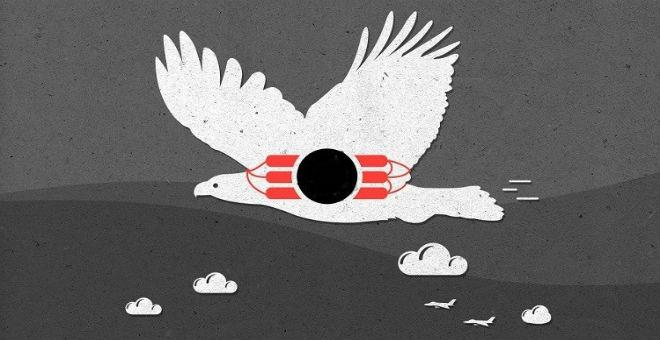 داعش يجند طيورا
