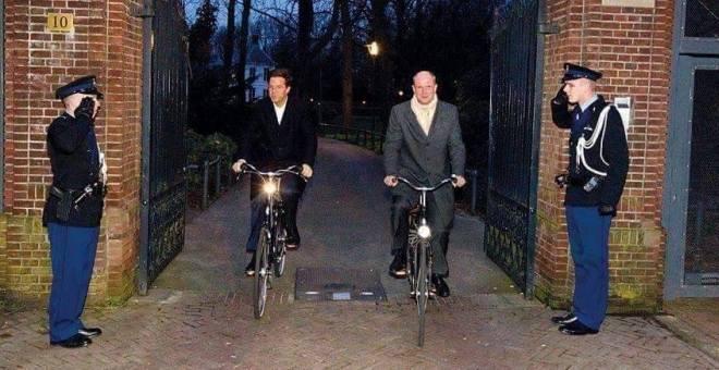 رئيس الحكومة الهولندية