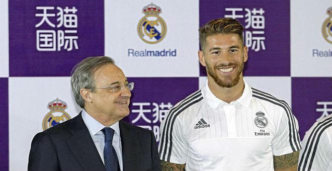 راموس: نحن بيادق وبيريز هو ملك ريال مدريد