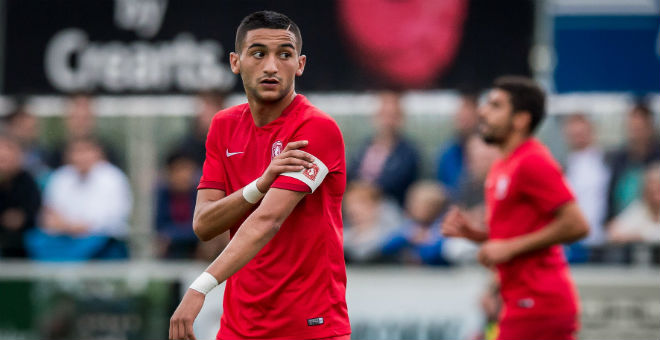 زياش يسجل تاسع أهدافه في الدوري الهولندي