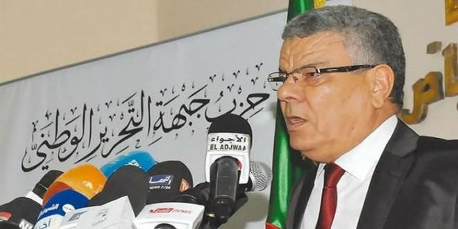 """عمار سعداني زعيم """"جبهة التحرير الوطني"""" بالجزائر"""