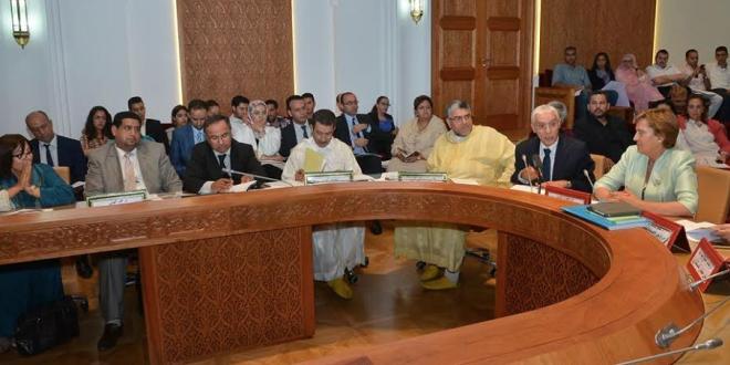 لجنة العدل والتشريع بمجلس النواب.صورة من الأرشيف.