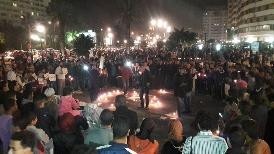 عدوى الاحتجاج على غلاء فواتير الماء والكهرباء تنتقل إلى البيضاء