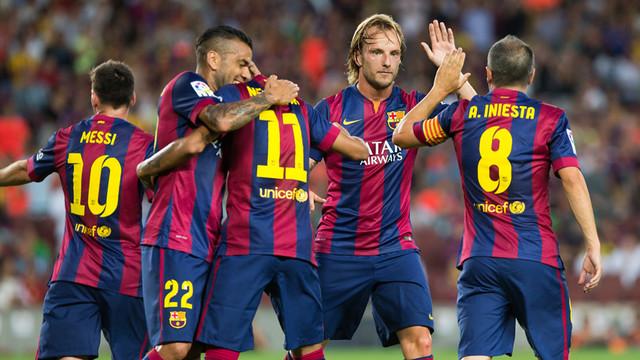 بالفيديو. برشلونة يُمطر شباك فيلانوفينسي ضمن منافسات كأس الملك