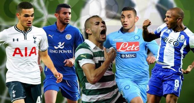 5 محترفين جزائريين في مسابقة الدوري الأوروبي