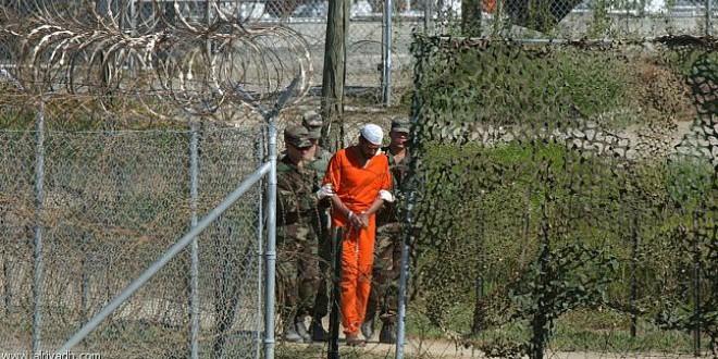 سجن غوانتانامو .صورة من الأرشيف.