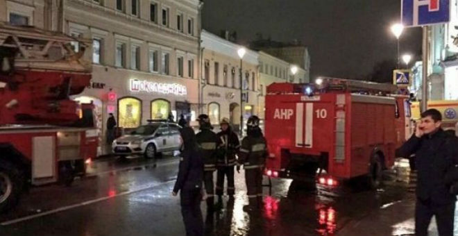 انفجار عبوة ناسفة بمحطة للحافلات في موسكو