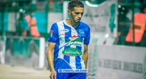 نبيل أومغار. لاعب فريق شباب الريف الحسيمي