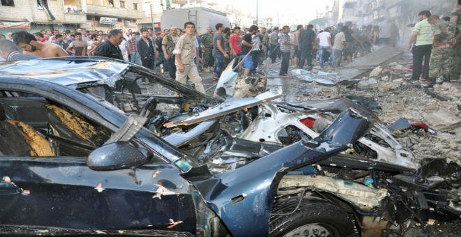 سوريا: مقتل 32 شخصا في عملية تفجيرية بحمص