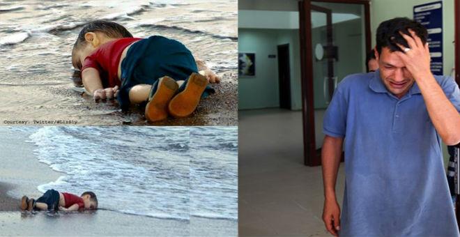 والد الطفل إيلان يدعو العالم لفتح أبوابه للشعب السوري