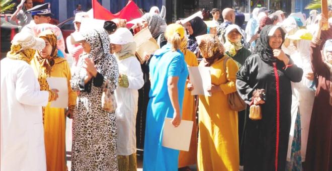 تنظيم نقابي مغربي يدعو إلى وقف العنف الممارس على المرأة العاملة
