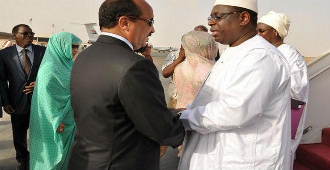 الرئيس السينغالي يعزي نظيره الموريتاني في وفاة نجله