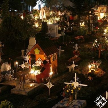 تشيلي - الموتى يشاركون أيضًا في الاحتفالات