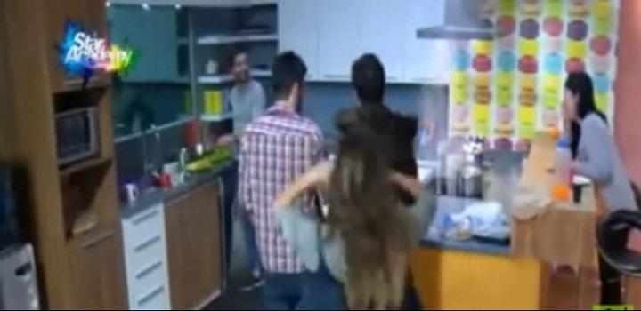 فيديو: حريق في مطبخ ستار اكاديمي وحالة من الصراخ و الفزع