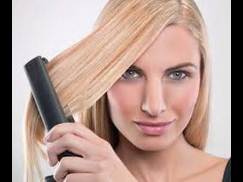 تعلمي الطريقة الصحيحة لكي الشعر بدون أضرار