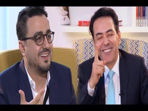 إعلامي مصري شهير يستقبل رشيد العلالي في لقاء ساخر