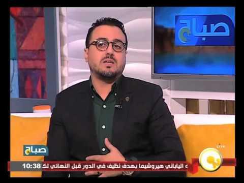 رشيد العلالي يعلم مذيعة مصرية الدارجة المغربية