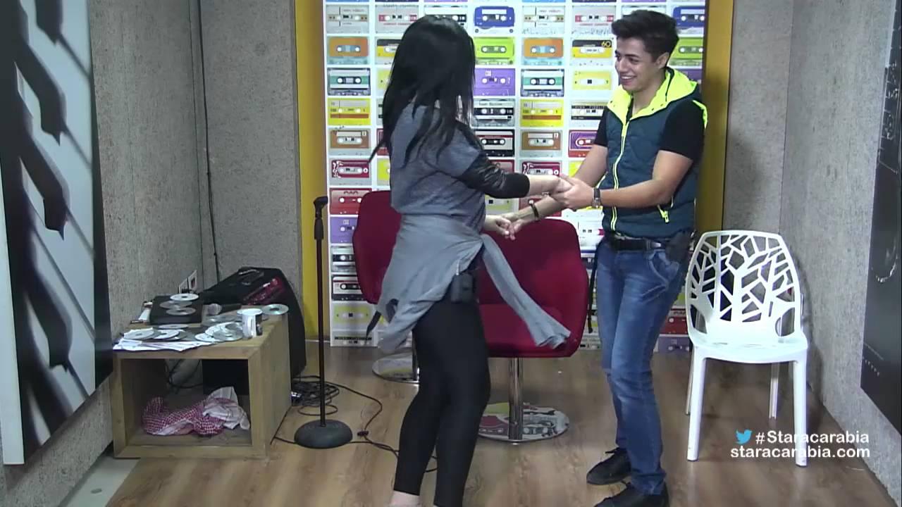 إيهاب وحنان يرقصان على إيقاع أغنية راي بـ