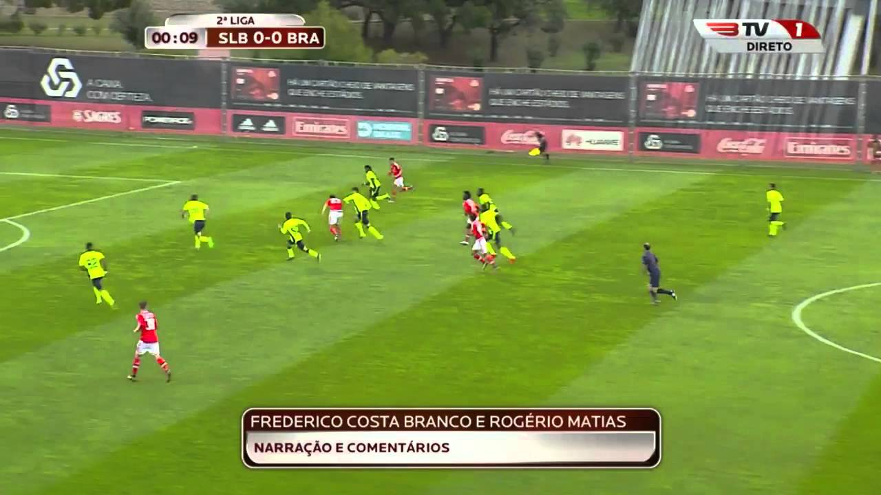 فيديو: هدف عادل تاعرابت أمام براغا بعد 13 ثانية من بداية المباراة