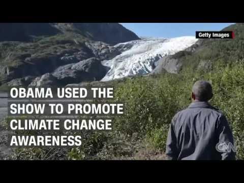 """شاهد..أوباما يرفض شرب """"بوله"""" في برنامج تلفزيوني"""