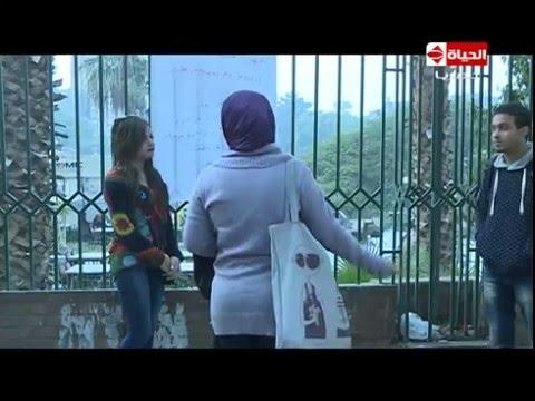 بالفيديو : تجربة مجنونة لفتاة تقف في الشارع تطلب الزواج من أي شاب بدون مهر أو شقة أو شبكة