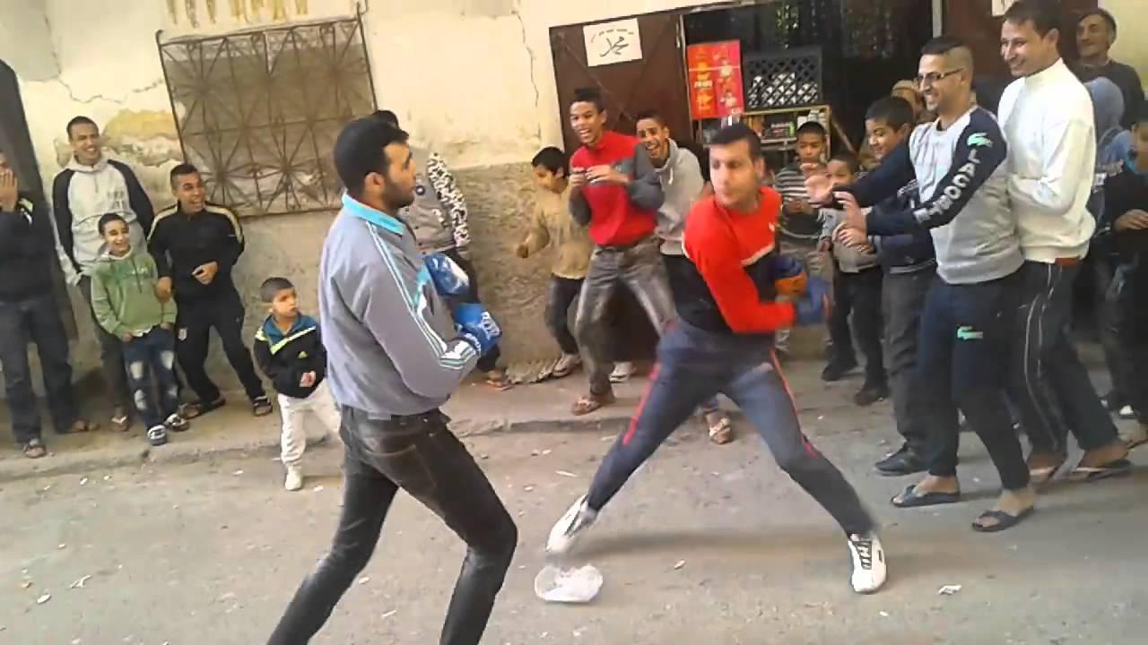 فيديو: الملاكمة الحرة في الشوارع المغربية