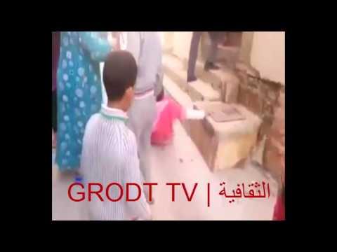 فيديو: رجل يعتدي على زوجته أمام أنظار الجيران بطنجة