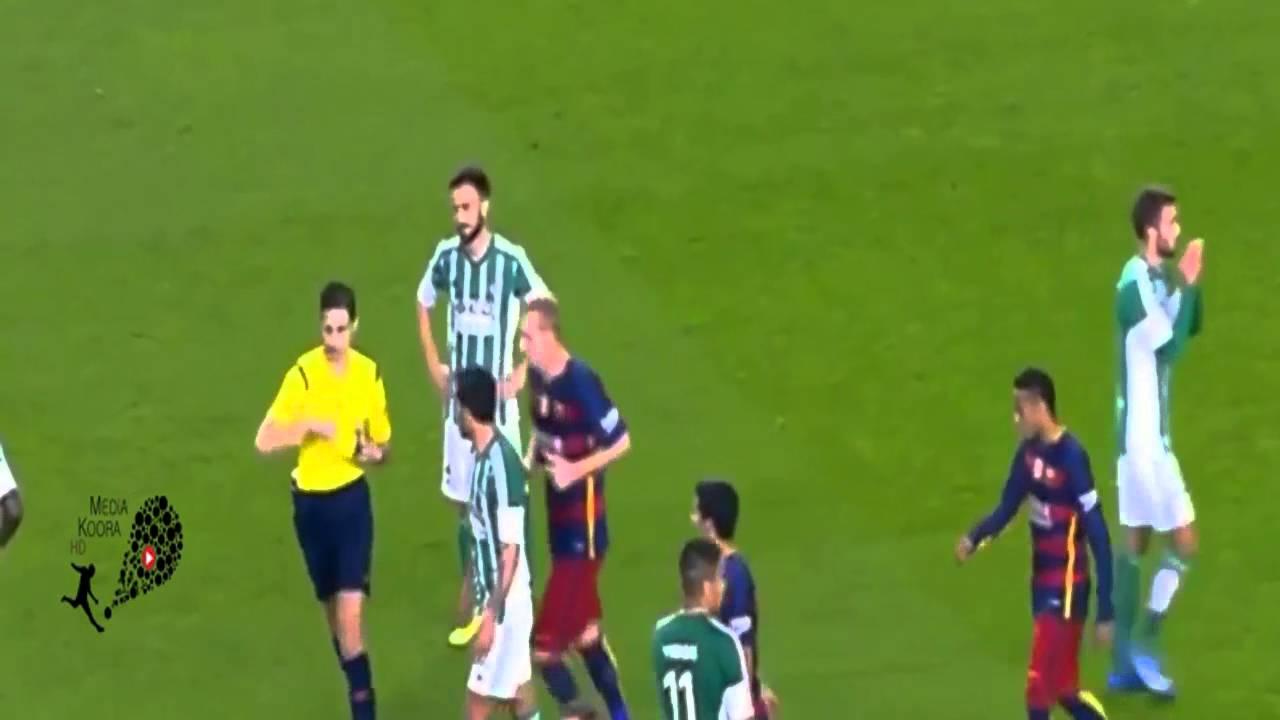 بالفيديو .. أهداف برشلونة الأربعة على بيتيس