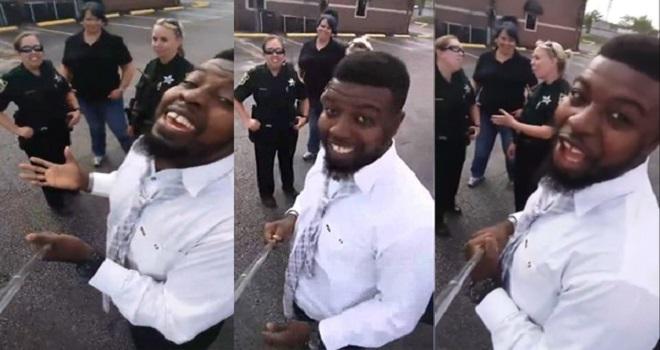 أوقفته ثلاث شرطيات لتسجيل مخالفة .. فكان هذا هو رد فعله