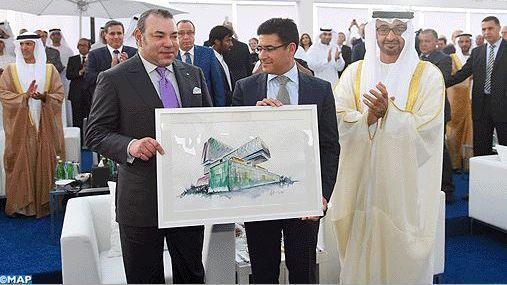 الملك محمد السادس وولي عهد أبوظبي يدشنان مستشفى