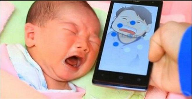 تطبيق ذكي يترجم سبب بكاء الأطفال