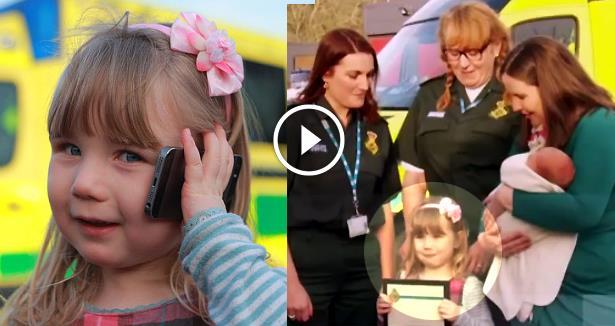 فيديو: طفلة في الثالثة تنقذ حياة والدتها الحامل باتصال هاتفي