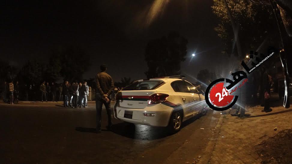 الرصاص يلعلع لإيقاف مجرم اعتدى على طاقم طبي بالبيضاء (صور-فيديو)!