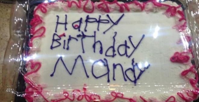الكعكة التي أحدثت ضجة عبر الإنترنت