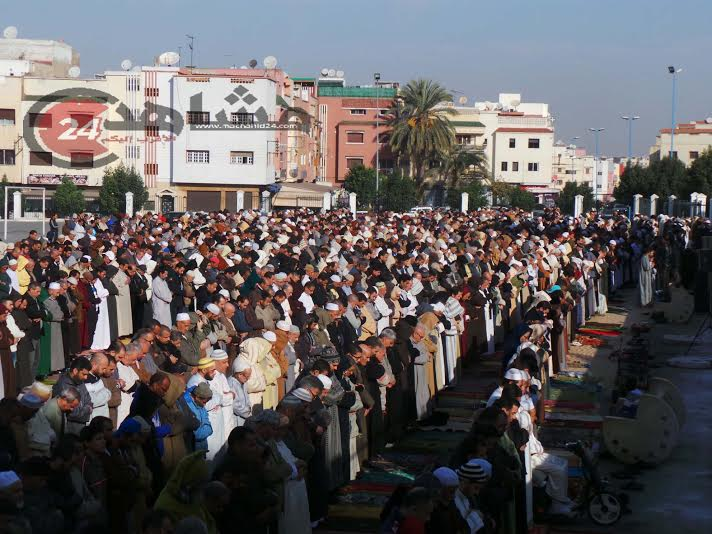 بالصور. بعد تأخر الأمطار.. المغاربة يطلبون الغيث في صلاة الاستسقاء