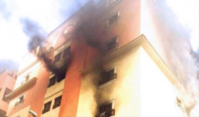 بالفيديو. مصرع 25 شخصا وإصابة 107 في حريق بالسعودية