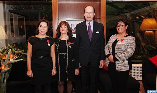 فرنسا تكرم نساء مغربيات رائدات في الطب وعلم الاجتماع والمالية