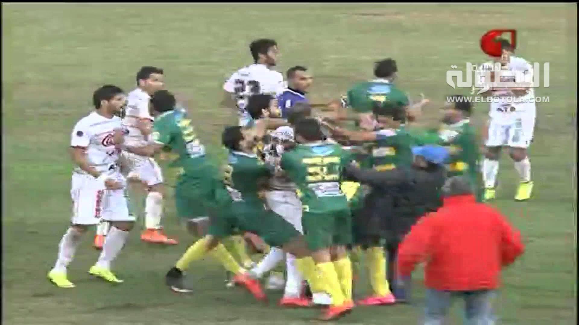 مباراة في تونس تتحول إلى حلبة ملاكمة