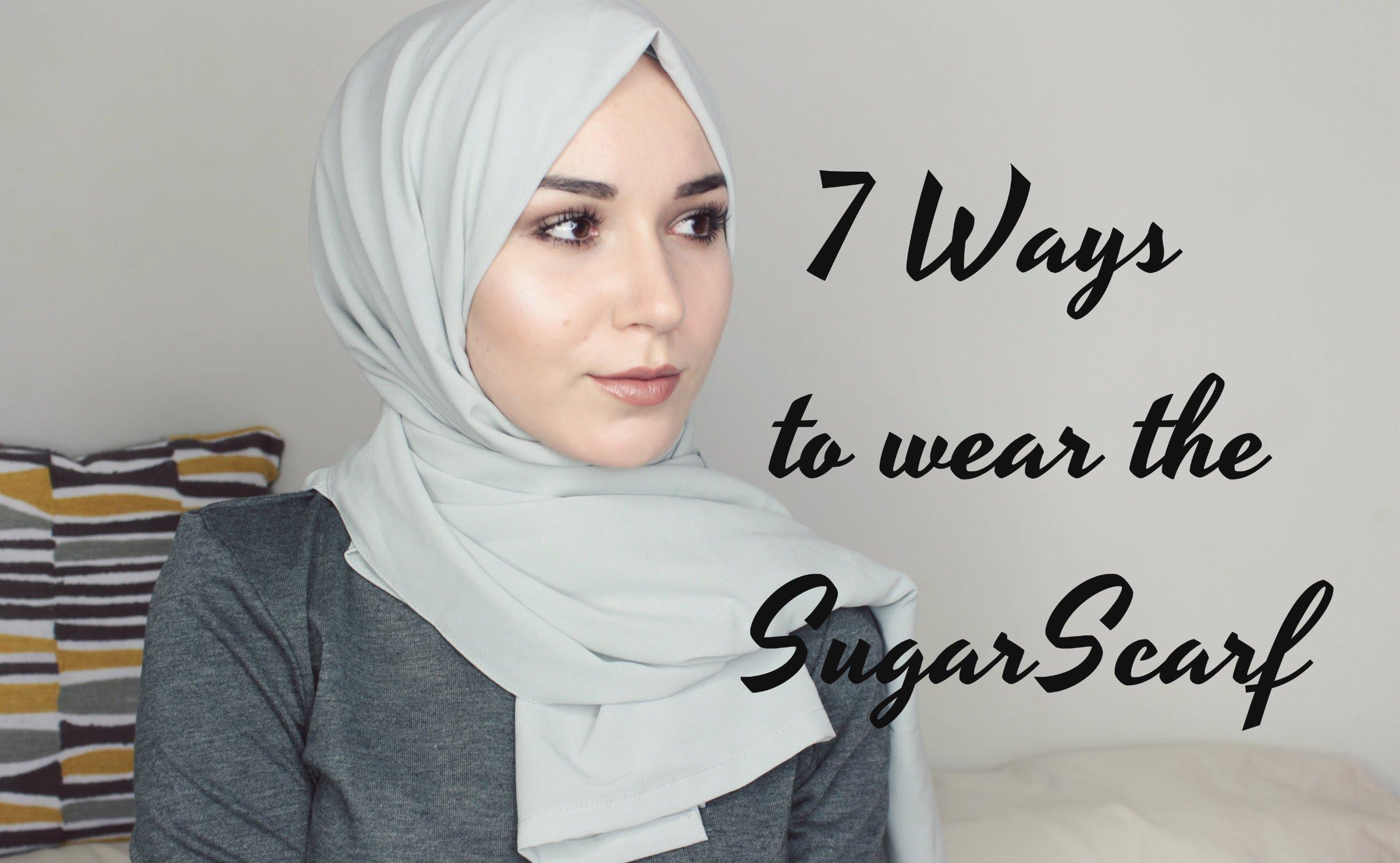 أحدث 7 طرق عصرية للف الحجاب