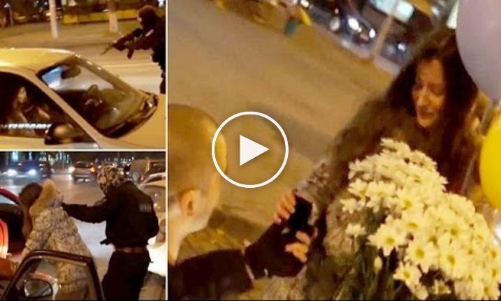 فيديو: عرض زواج تحت تهديد السلاح في روسيا