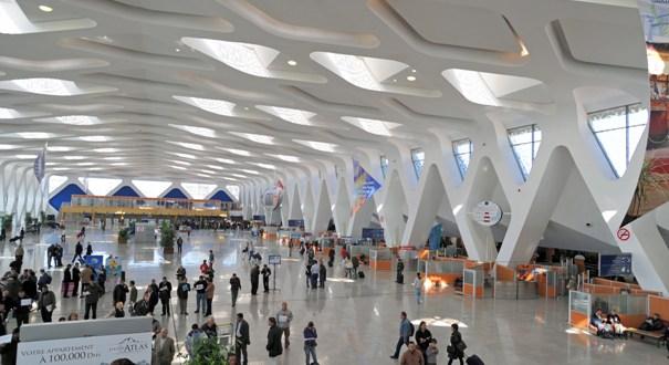 انحفاض حركة المسافرين بمطار مراكش المنارة الدولي