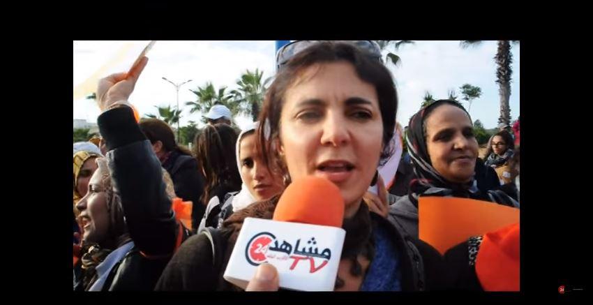 الممثلة أمل عيوش تصرخ في وجه الحكومة وهذه هي مطالبها!