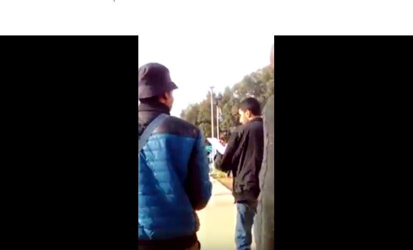 بالفيديو. ضبط إفريقيين يمارسان