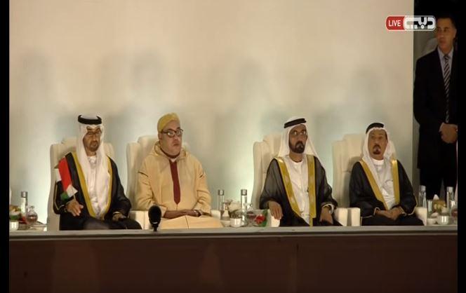 بالفيديو. الملك محمد السادس يشارك الإمارات احتفالها بعيدها الوطني