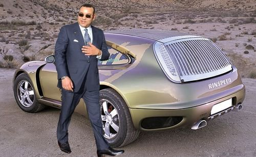 فيديو : سيارات الملك محمد السادس الفارهة