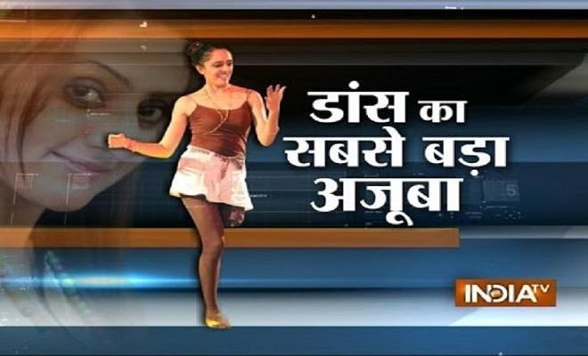 راقصة هندية تُبهر العالم برقصها بـ