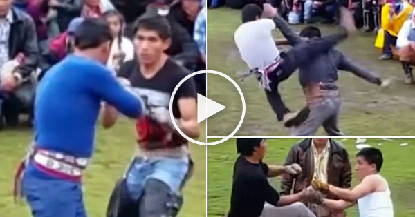 فيديو: شجار وعراك لبدء سنة جديدة دون خلافات في البيرو