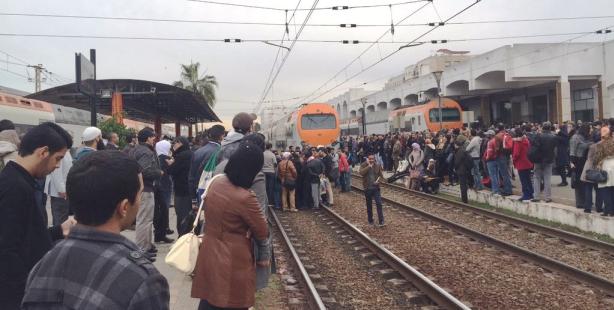أمن البيضاء يوقف عصابة خطيرة متخصصة في السرقة داخل القطارات!