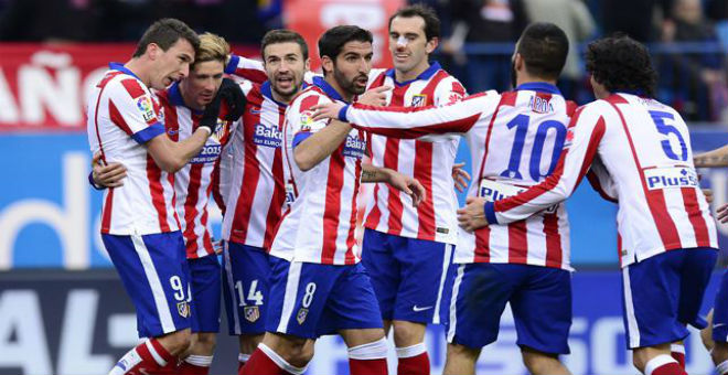 أتلتيكو مدريد يقصي برشلونة من دوري الأبطال