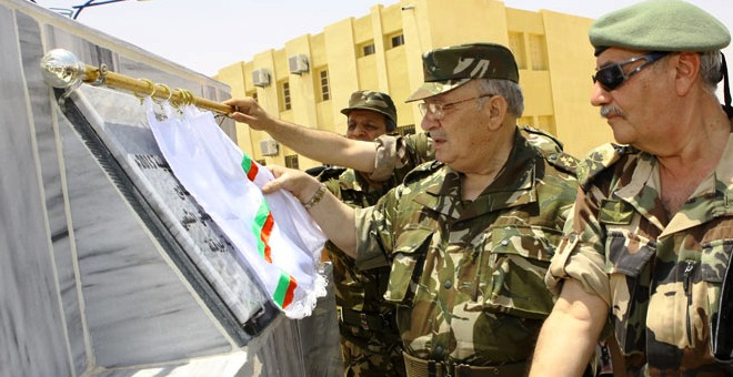 قايد صالح وخطاب